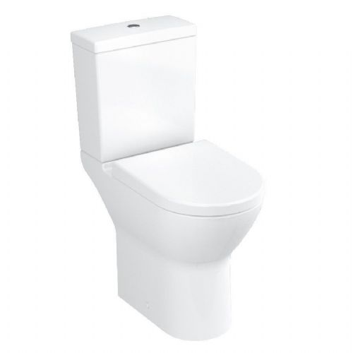 Vitra S50 Comfort Height Close Coupled Toilet, Pan, Cistern & Soft Close Seat
